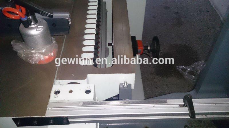 three big edge woodworking equipment holes Gewinn Brand