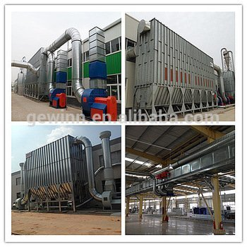 central dust collector machine