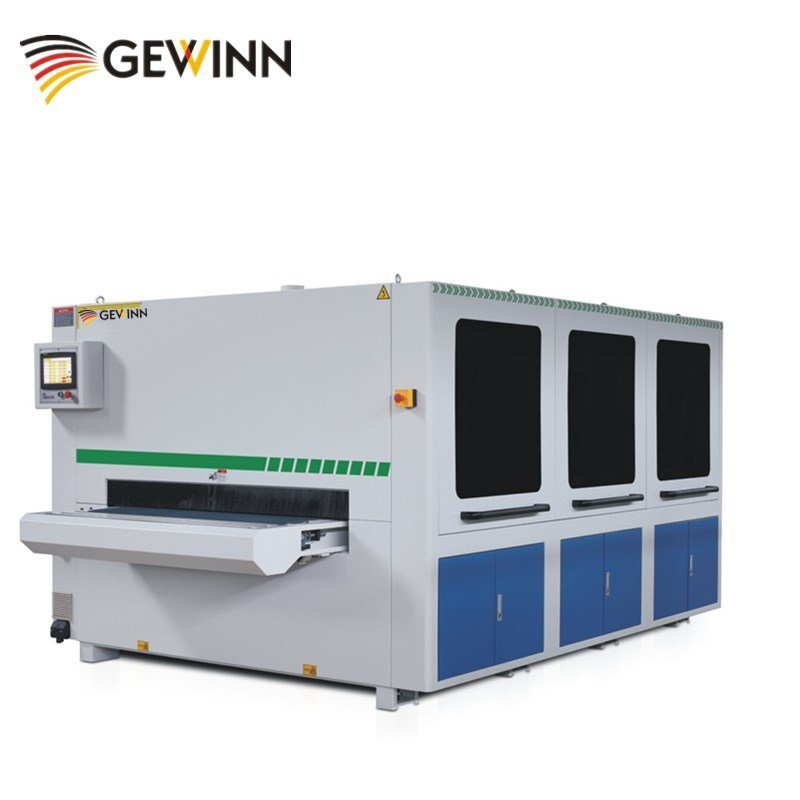 Thickness setting wood grinding sanding machine