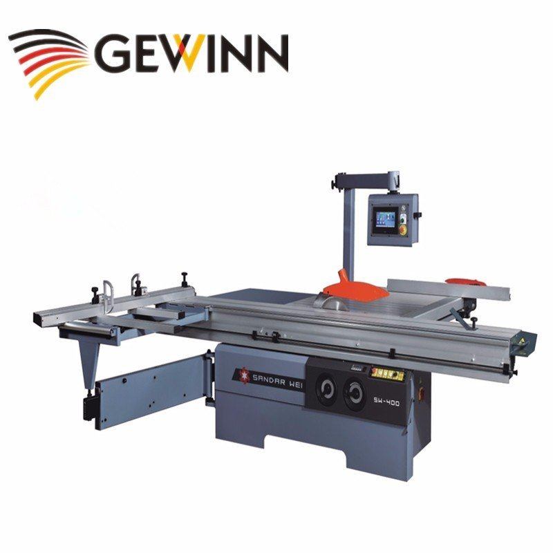 Straight cutting sliding table saw/board cutting panel saw SW-400C