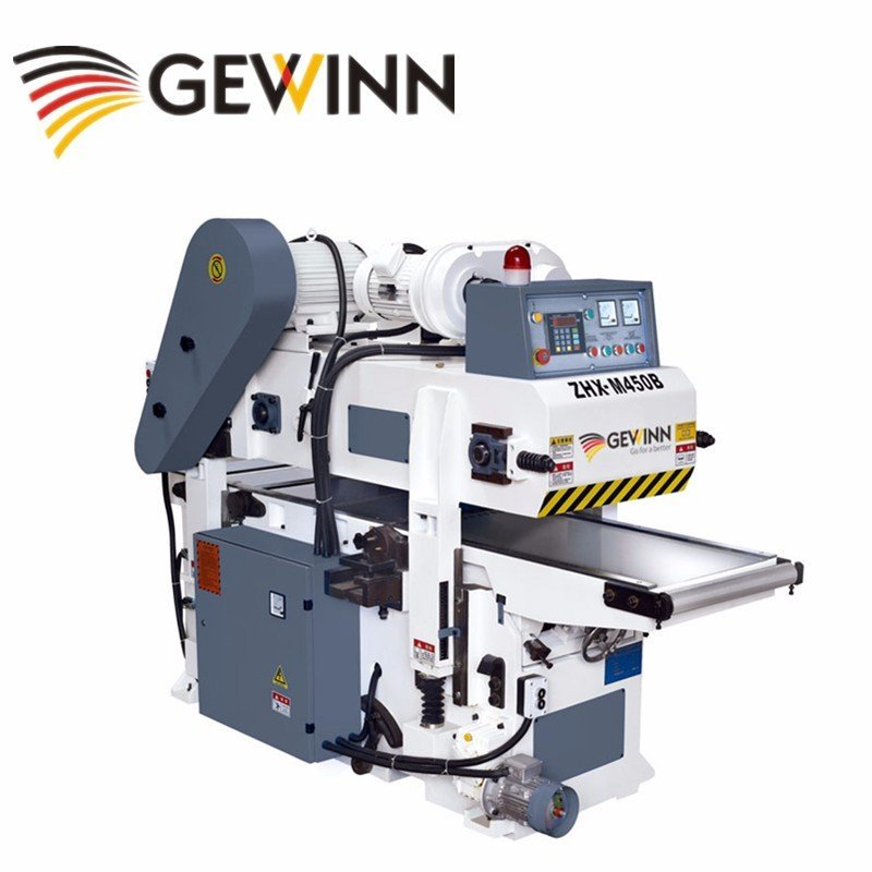 Gewinn Full automatic double side planer M450B /double surface planer Double sides planer  image25