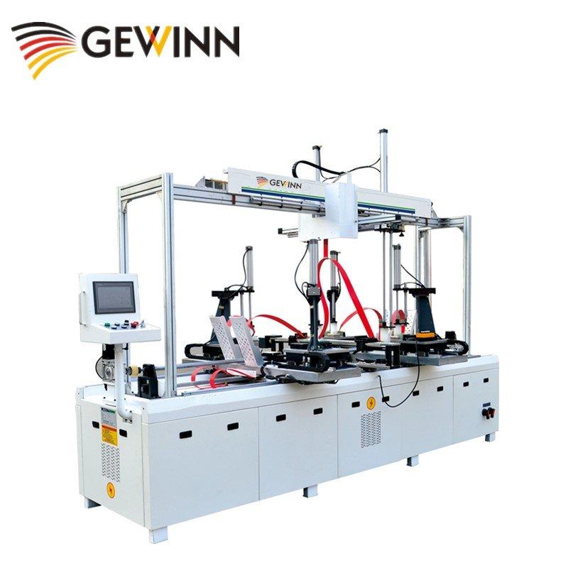 HF universal wooden frame assembling machine