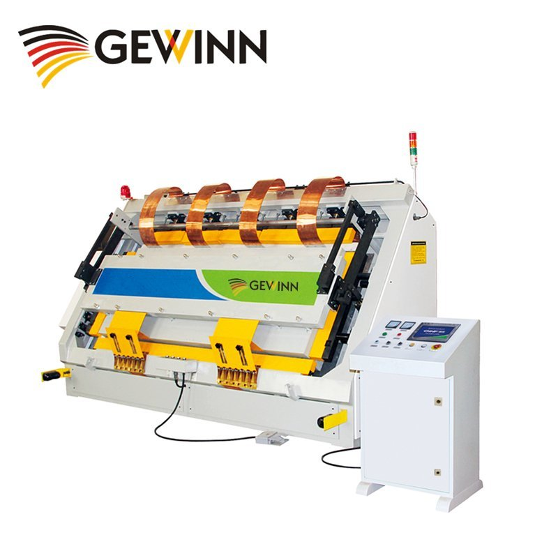 HF wooden board and frame assembling machine