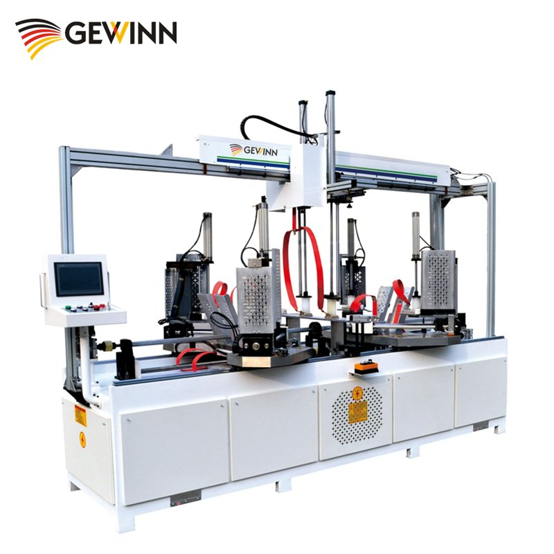 HF wooden frame assembling machine