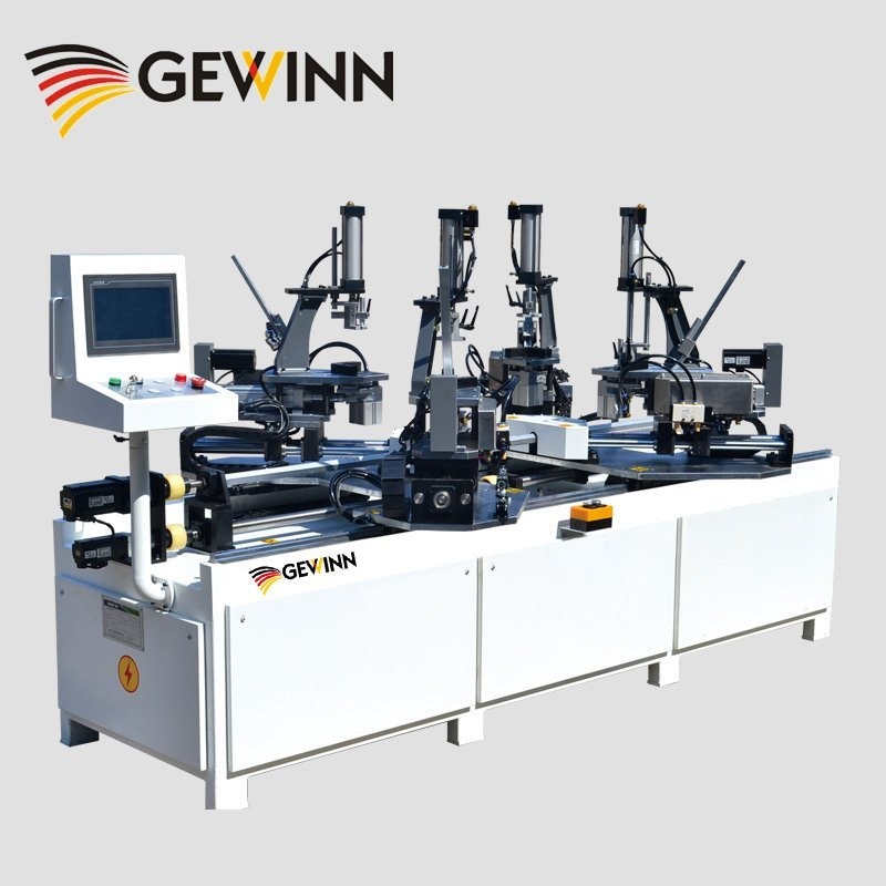 Wooden frame nails jointing machine
