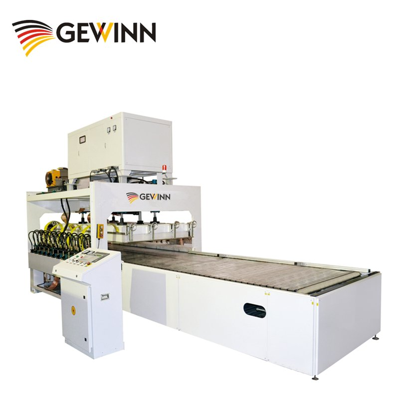 Gewinn XXHF Vertically Lifting Jointing Machine For Wooden Board (Crawler Type) High Frequency press image3