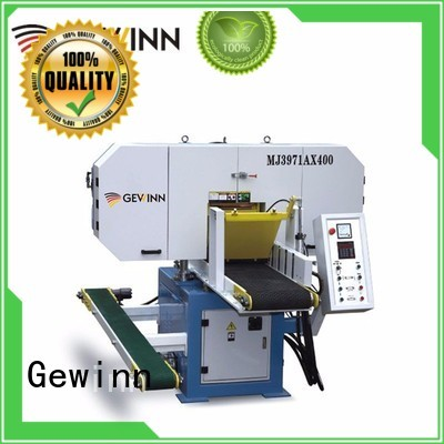 horizontal band wood cutting industrial horizontal band saw Gewinn Brand