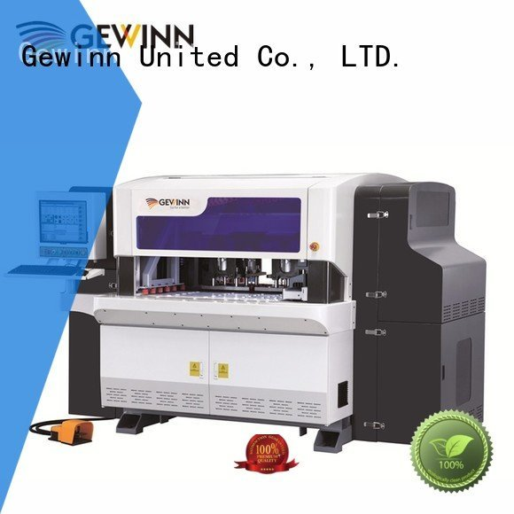 Gewinn press control woodworking cnc machine closet wooden