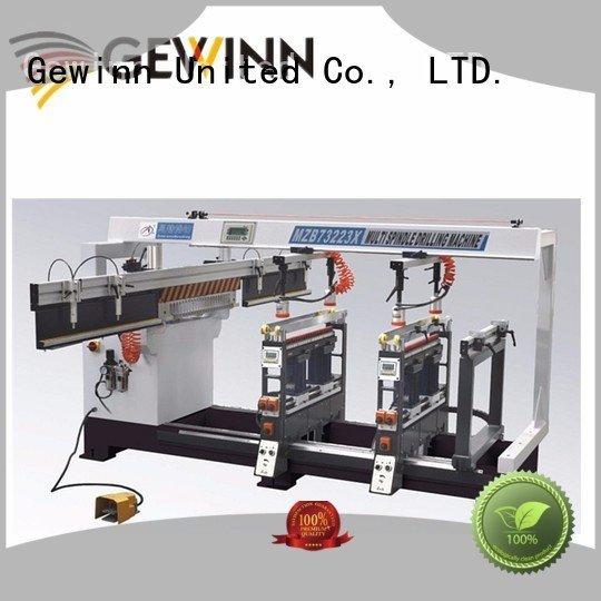 Quality wood boring machinery factory Gewinn Brand line boring machine