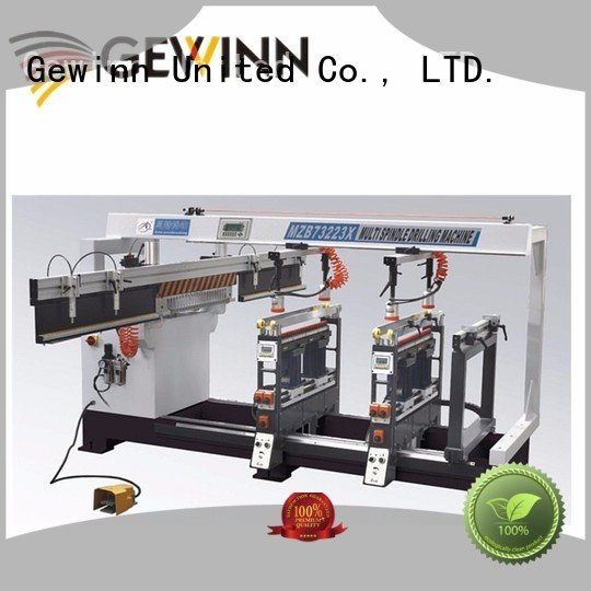 Quality wood boring machinery factory Gewinn Brand line boring machine