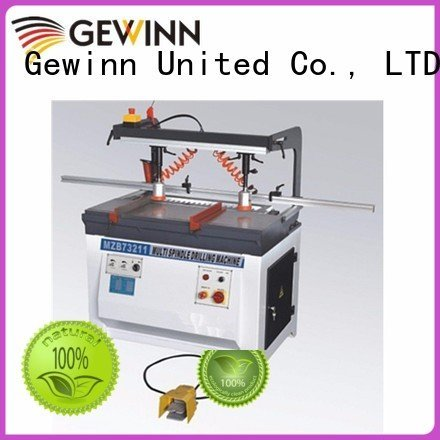 Quality wood boring machinery factory Gewinn Brand line boring machine single