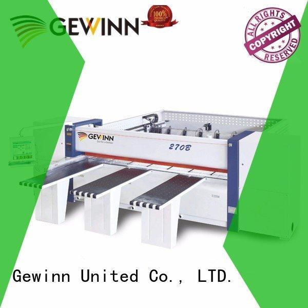 Gewinn woodworking cnc machine machineboard machines saw sided