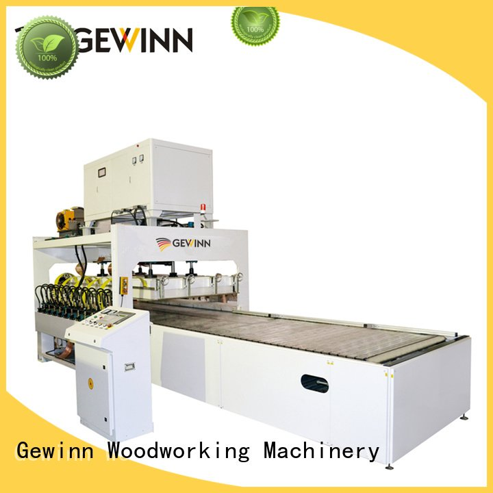 Gewinn automatic jointing vacuum high frequency machine for sale push