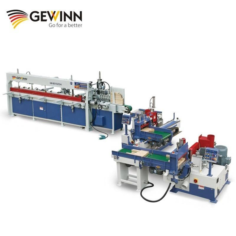 Wood semi-auto finger jointing line /woodworking machine FJL150A