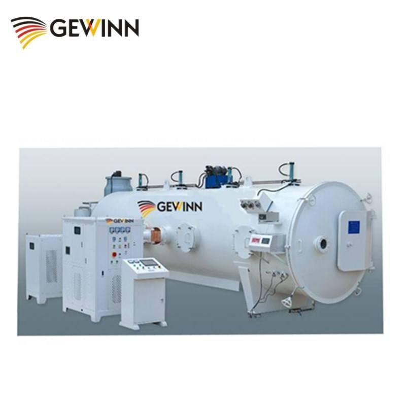 High frequency vacuum wood chamber kiln with 10 cubic meter size