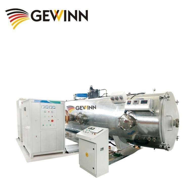 HF vacuum wood drying machine operation video